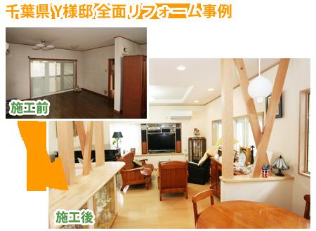千葉県 Y様邸 全面リフォーム事例