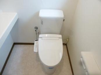 超節水トイレで経済的に!