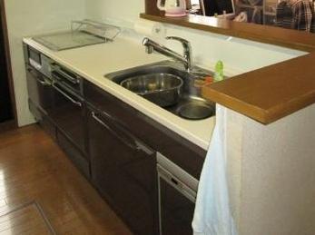 台所と洗面室がまるで新築♪