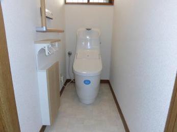 新築のようなトイレで快適に!
