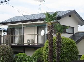 屋根と外壁に防水完了♪住まいも長持ち♪