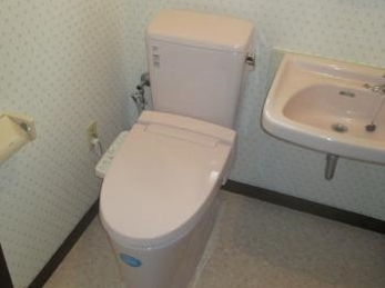 節水トイレで2階も快適♪