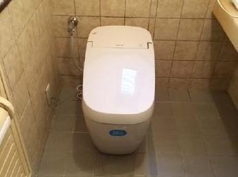 最新式トイレで快適空間♪