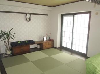 設備一新で快適、和室とリビング一体化で広々空間♪
