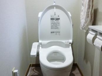 節水型トイレでキレイにリフォーム!!