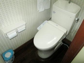 節水トイレで家計にエコ♪ 掃除も楽々♪