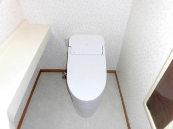 便利で綺麗なトイレに換えて羨ましい限りです。