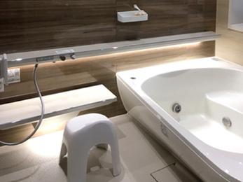 高品質のユニットバスで快適な浴室