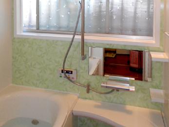 浴室暖房で冬でも暖かで快適なお風呂