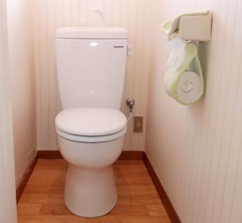 お手入れ簡単、節水でお財布に優しいトイレに