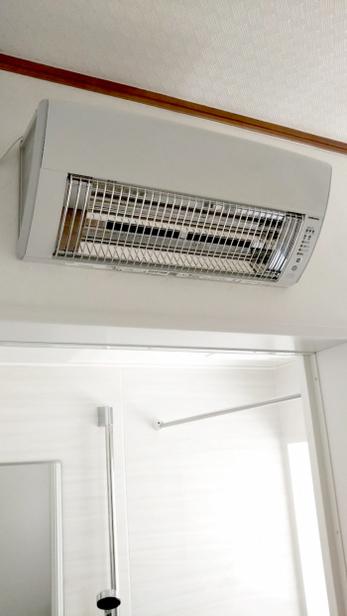 洗面所暖房でヒートショック予防!